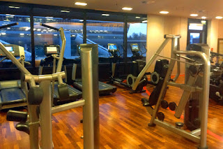 The fitness room is available 24/7 at the Sheraton Airport Hotel and Conference Center, Frankfurt, Germany