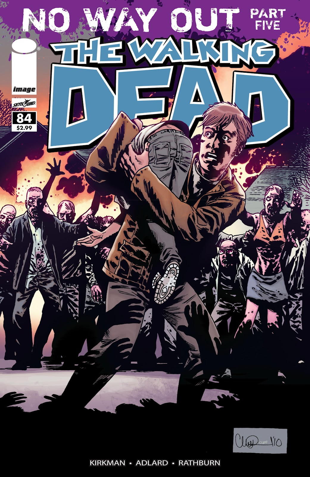 The Walking Dead issue 84 - Page 1
