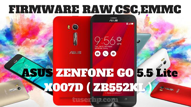 FIRMWARE ASUS ZENFONE GO X007D (ZB552KL) - TUSERHP