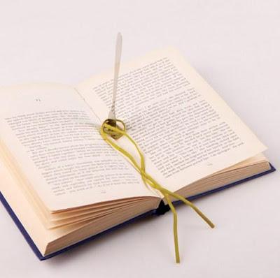 Pasta Bookmark