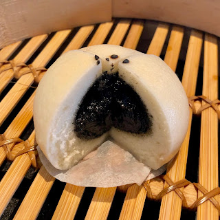 Sesame bun at Din Tai Fung