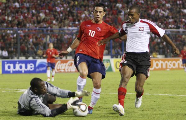 Chile y Trinidad y Tobago en partido amistoso, 5 de mayo de 2010