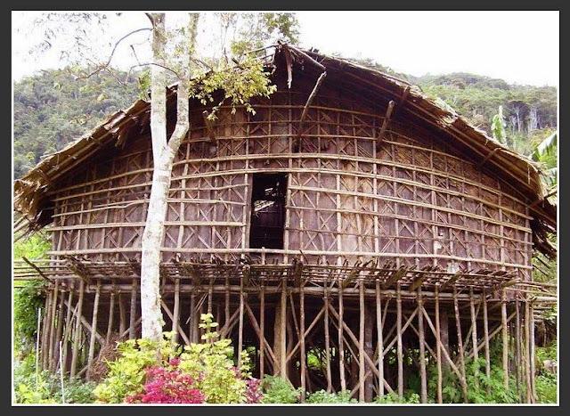 Gambar Rumah adat Kaki seribu