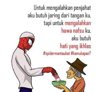 Superhero Dunia Yang Bertaubat | Kawan Unik