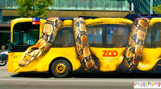 zoo guerilla marketing advertising