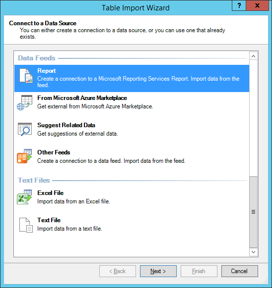How to use SSRS reports as Data Source in Excel | SansSQL