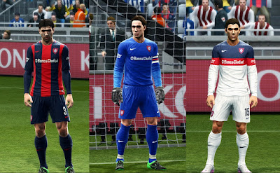 PES 2013 Update Kits 2015/16 (Man. United, Shakhtar, San Lorenzo) by Vulcanzero