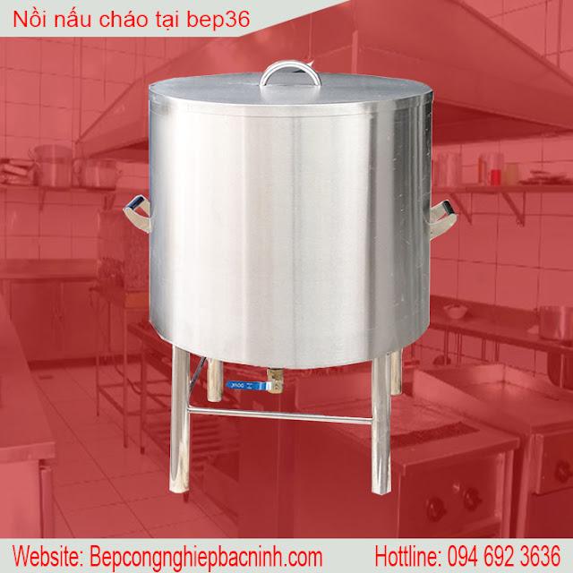 Nôi cháo inox 304 - 120 lít NNC-120