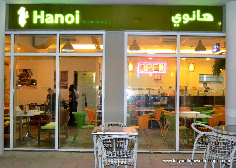 Hanoi Naturally in JLT Dubai