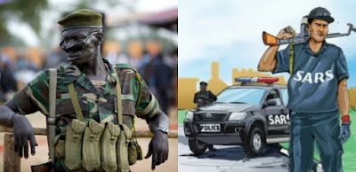While I Was Busy Fighting For Nigeria, SARS Tortured My Cousin To Death - Gallant Soldier