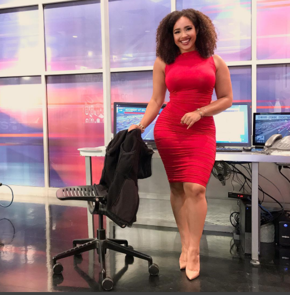 Dallas TV Traffic Reporter mocked for her Looks Hits Back with Positivity & the Internet is Loving It