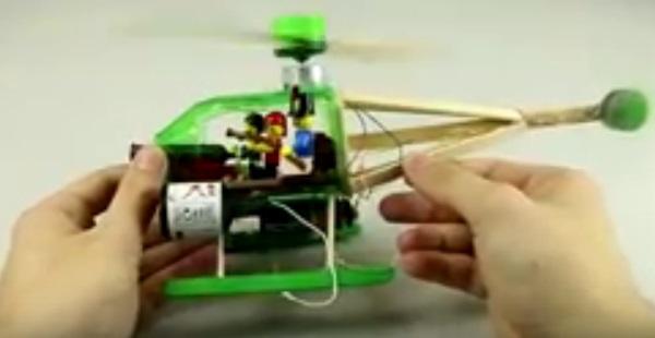 Cara Membuat Helikopter Elektrik Mainan Dari Botol Air Mineral Bekas