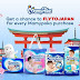 Get a chance to FLYTOJAPAN for every Mamypoko purchase!