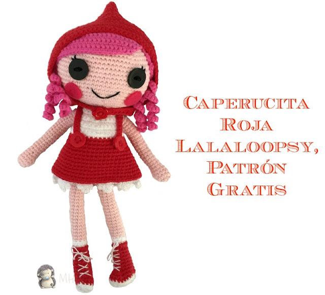 Caperucita roja Lalaloopsy amigurumi