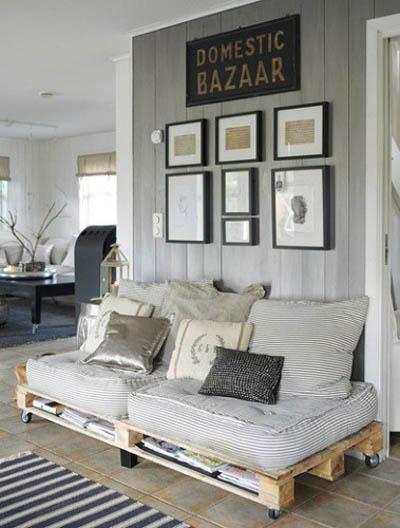 decoração com reciclagem, blog de decoração, decoração com pallets