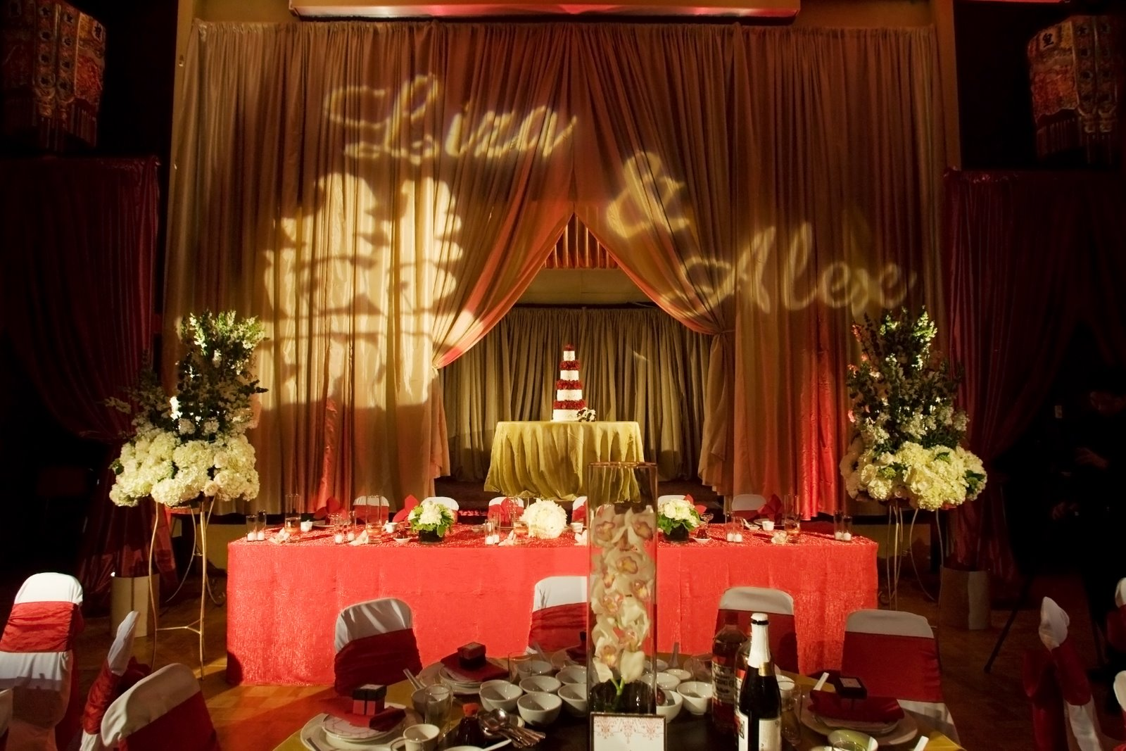 Check Out The Grand Ballroom Where Lisa And Alex Chose To Have Their Chinese Banquet