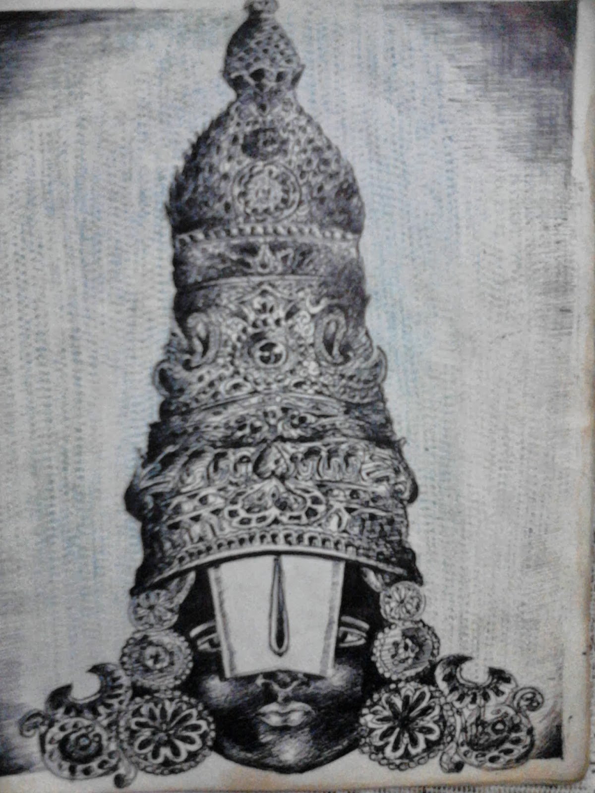 Hanuman Animated Wallpaper My Pencil Sketches Lord Venkateswara