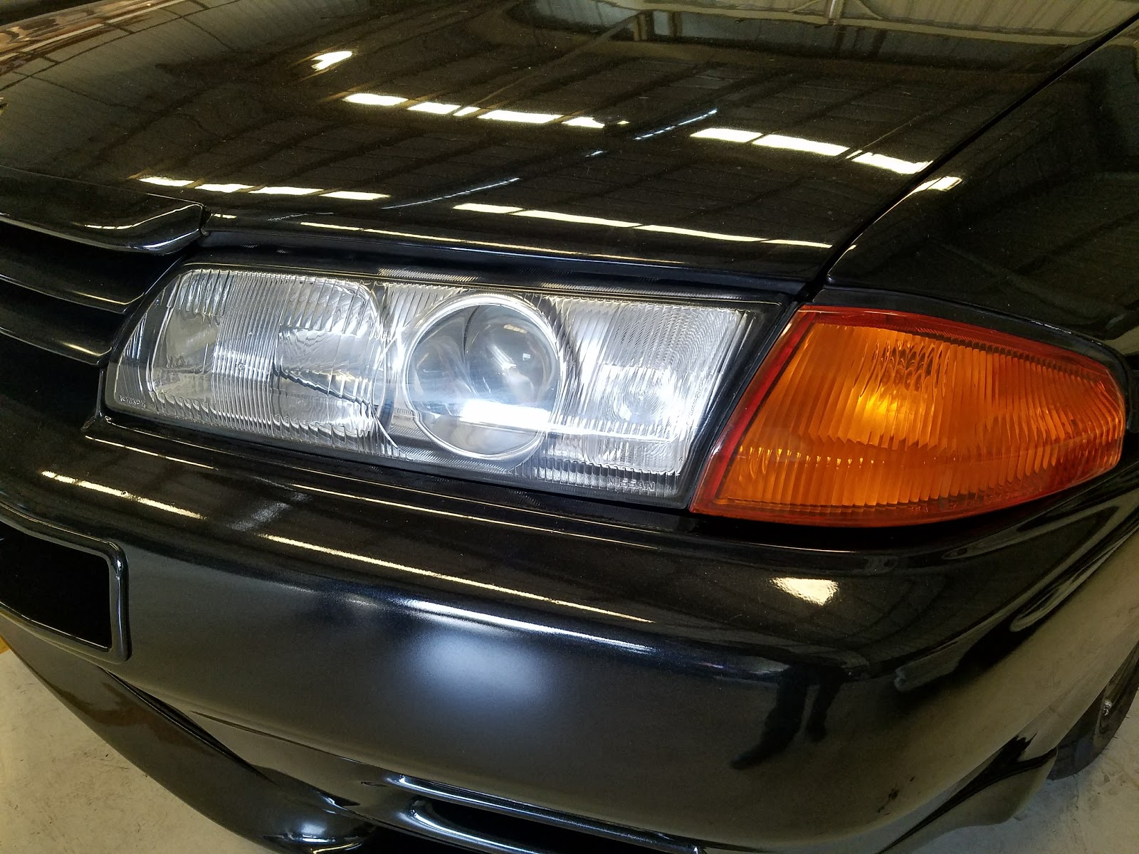 Nissan Skyline GT-R : R32 Headlight Differences, and Other