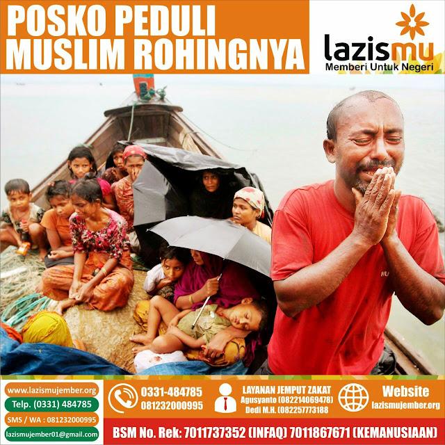 Donasi Kemanusiaan untuk Muslim Rohingya