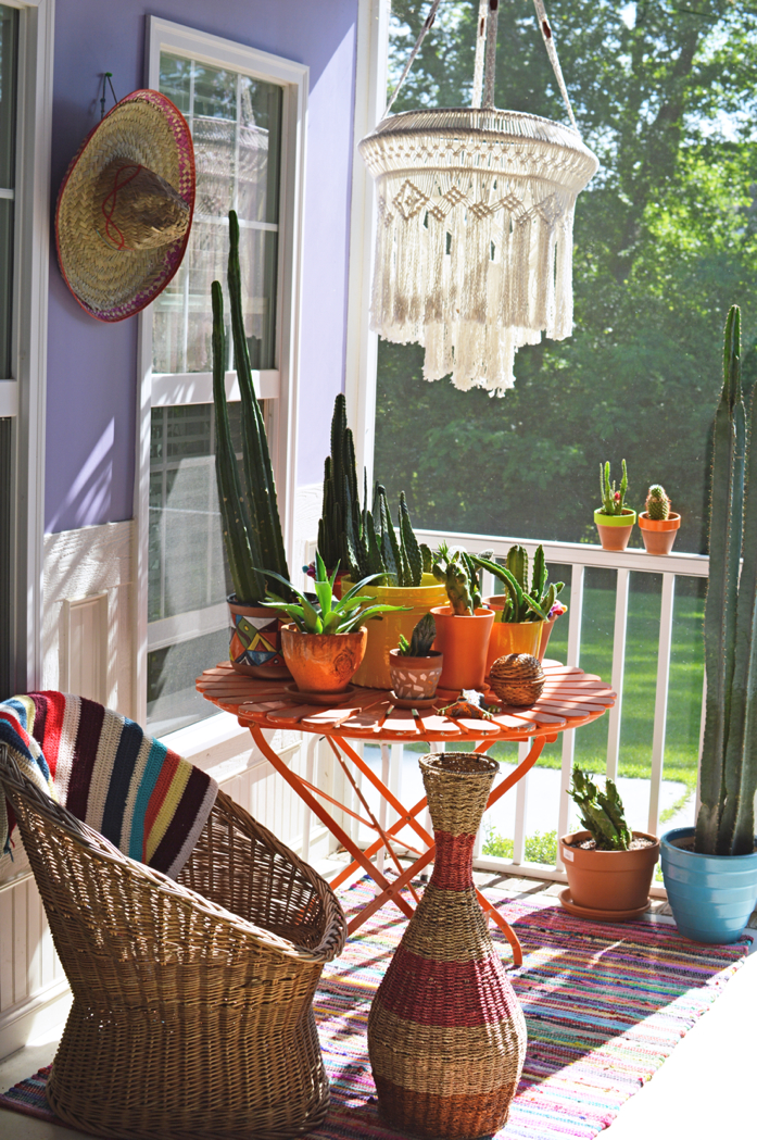 Cinco de Mayo with Cacti and a Sombrero -design addict mom