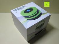 Verpackung: OUTAD 2-in-1 Outdoor Wireless Bluetooth Lautsprecher & LED Lampe mit eingebautem Mikrofon, einstellbarem Licht und Broadcom 3.0