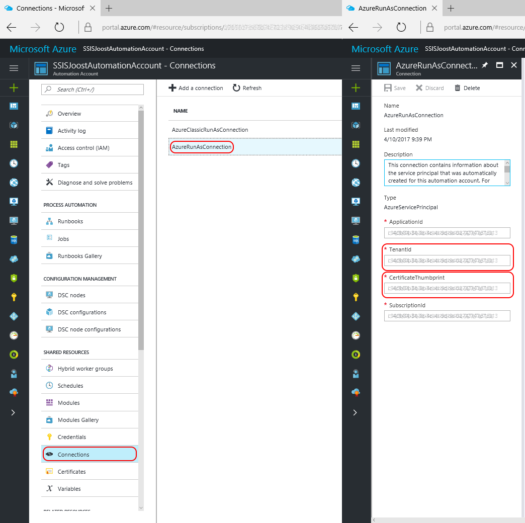 microsoft bi tools schedule pause resume of azure data