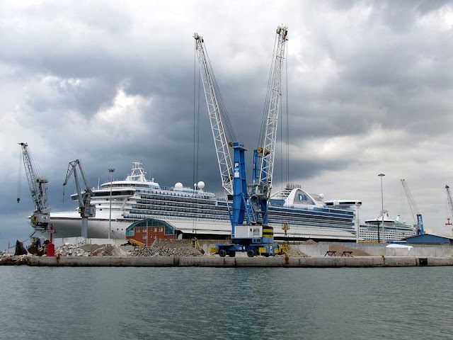 Star Princess, cruise ship, Livorno