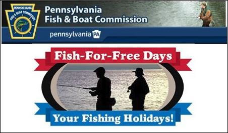 Solomon 39 s words for the wise may 29 marks pa s first fish for Pa boat and fish commission