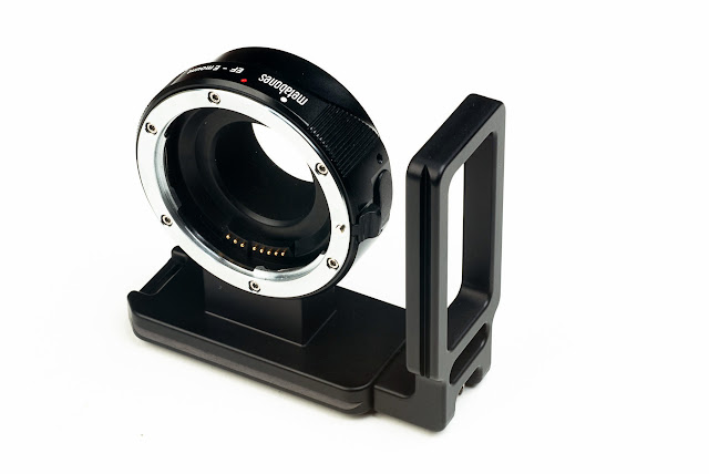 Hejnar Photo Metabones L Bracket w/ Metabones Adapter