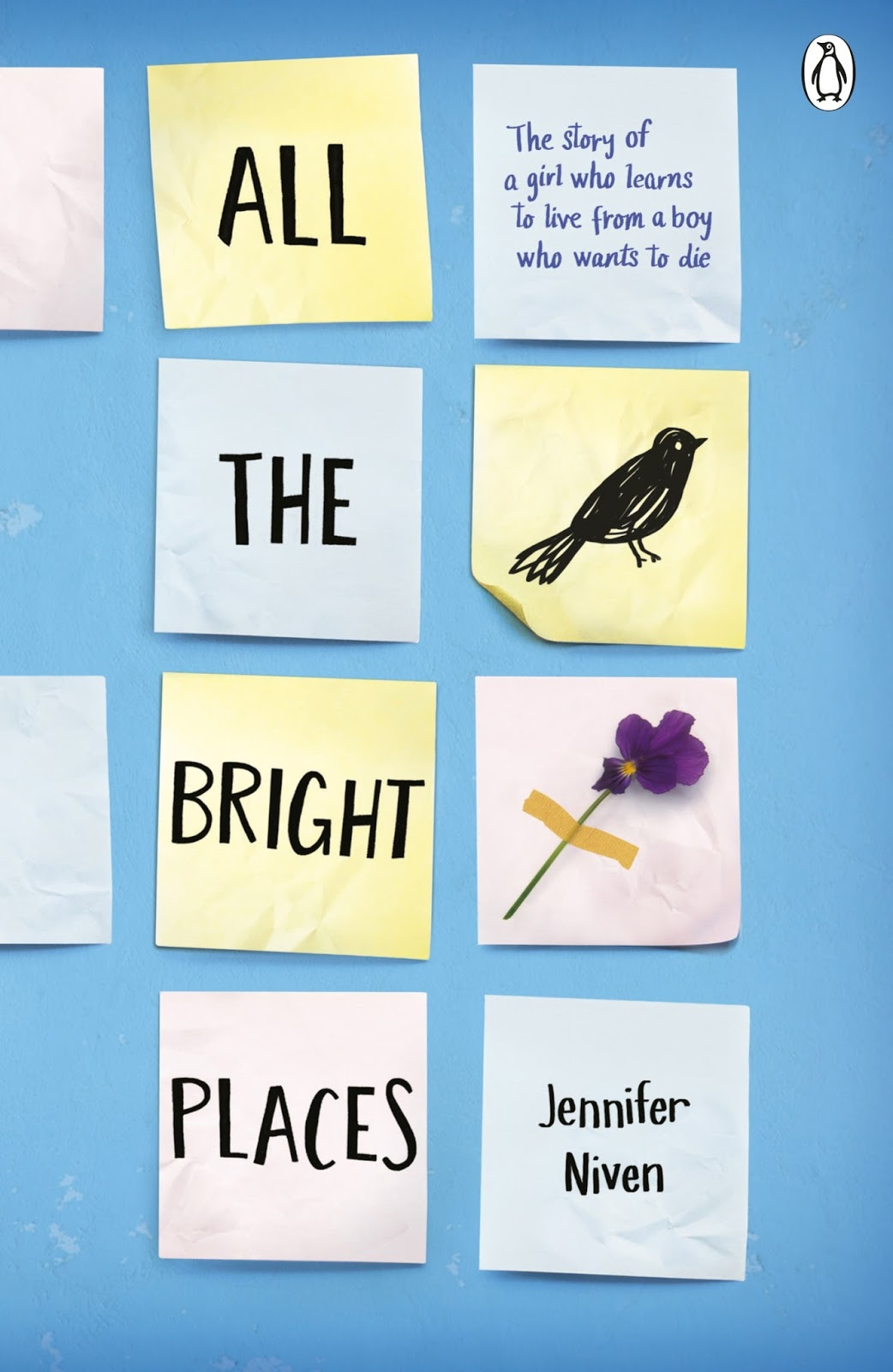 All The Bright Places Jennifer Niven cover