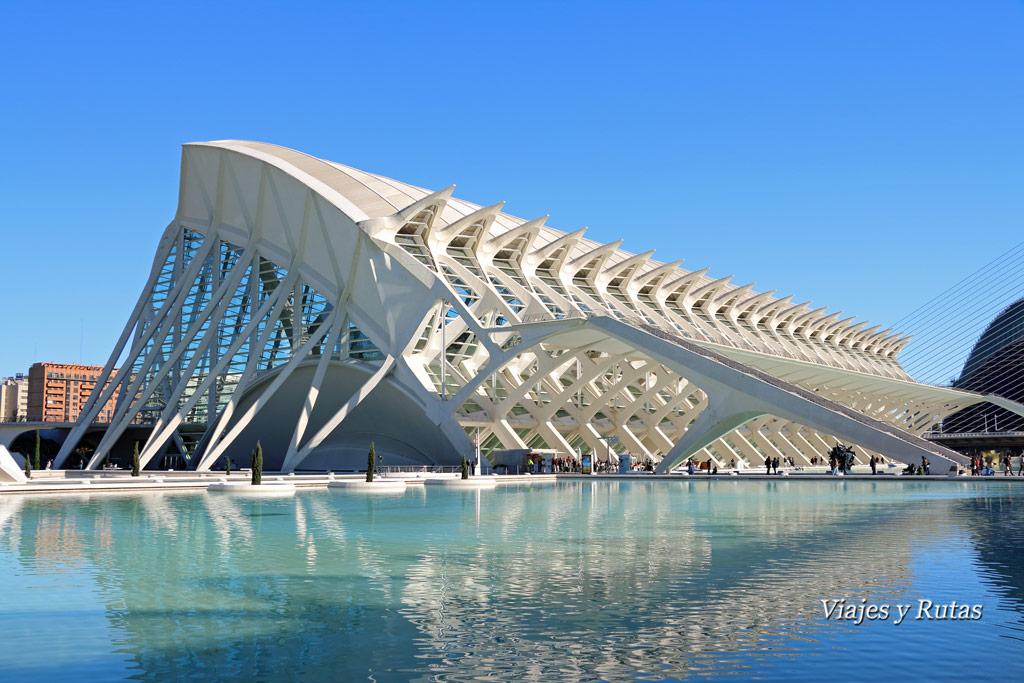 Museo de las Ciencias Príncipe Felipe, Ciudad Artes, Valencia