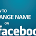 How to Change My Name In Facebook