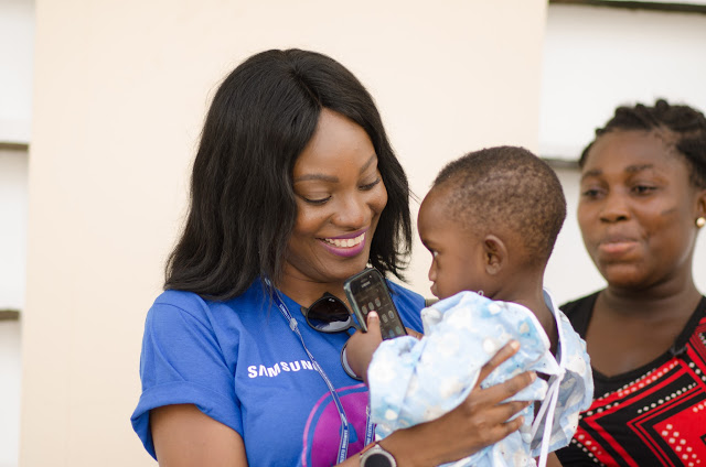 "Samsung Employees & Partners Volunteer Towards ""Operation Smile"""