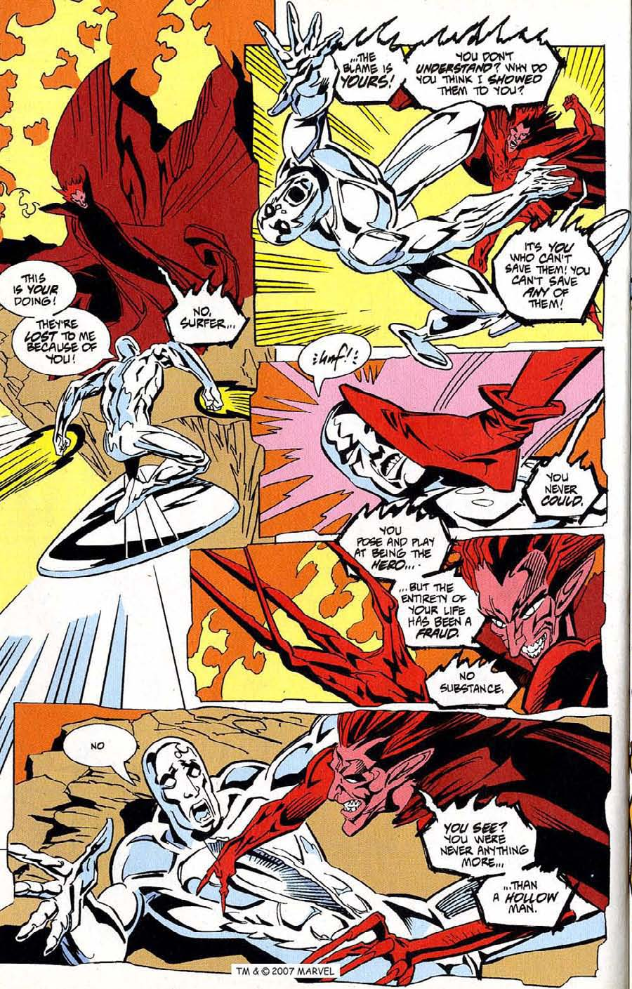 Read online Silver Surfer (1987) comic -  Issue #100 - 32