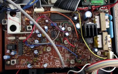 Super Fone CT3000N receptor e telefonia