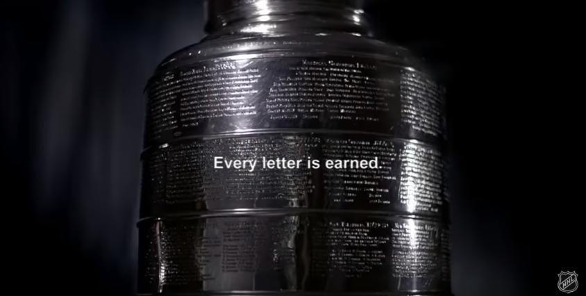 Nhl S Every Letter Is Earned