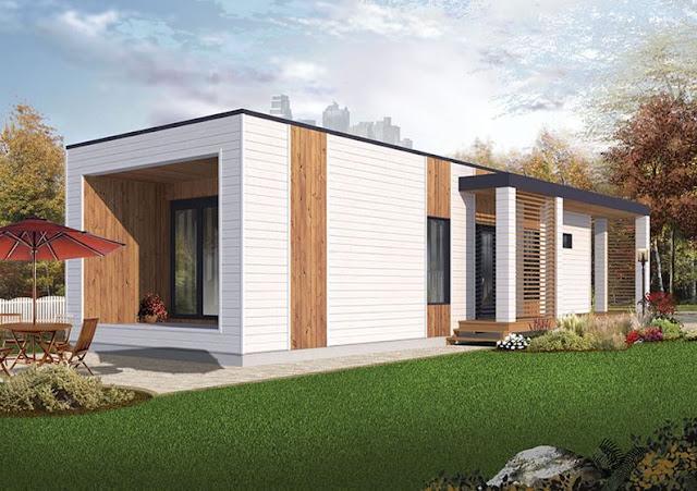 Planos de viviendas de un piso de 58m2 planos de casas for Fachadas de viviendas