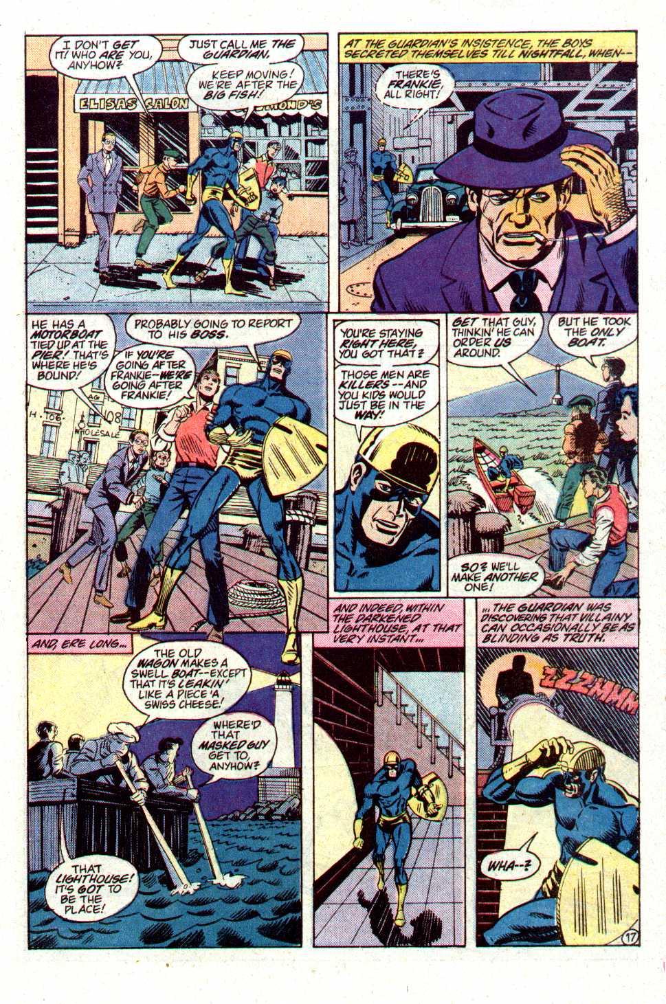 Read online Secret Origins (1986) comic -  Issue #19 - 38