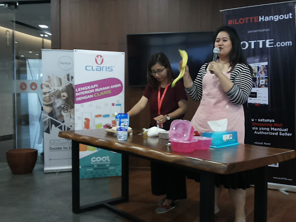 ILotteHangOut, Cooking Class with Putri Habibie
