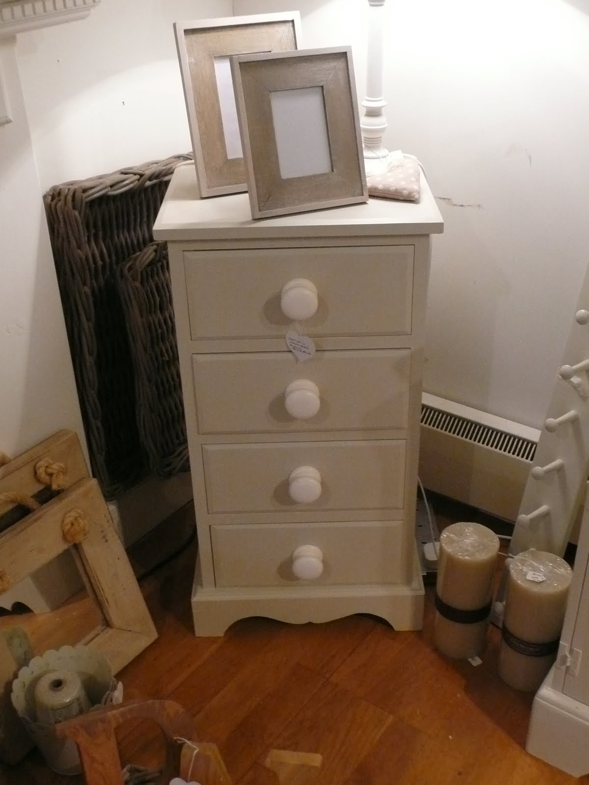 Slim Bedside Tables: New Arrivals: Pair Of Tall/narrow Chest Of