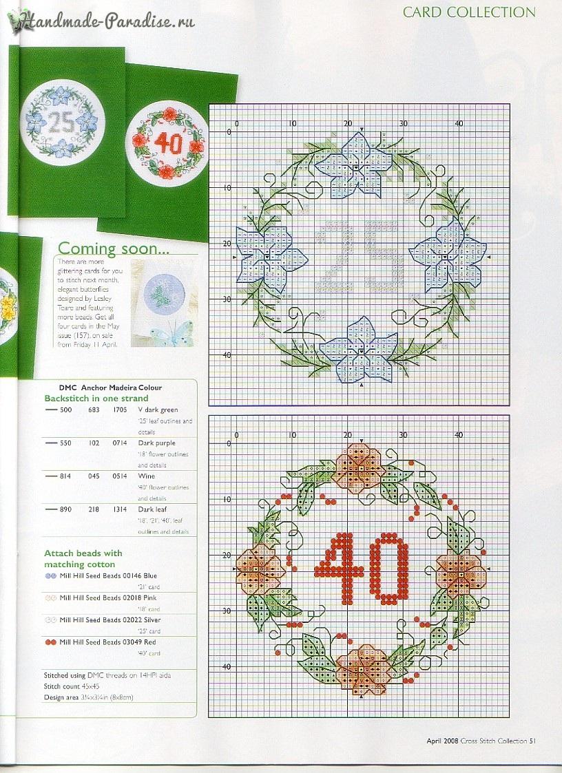 Журнал Cross Stitch collection 156. Схемы вышивки