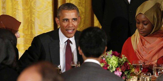 Presiden Barack Obama buka puasa bersama muslim Amerika serikat
