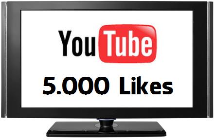 Buy 5000 YouTube Likes