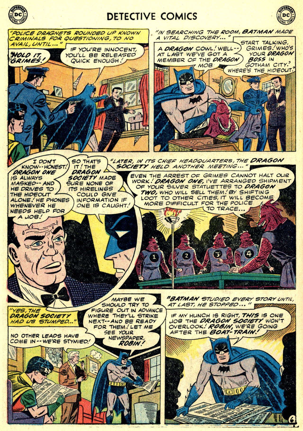 Read online Detective Comics (1937) comic -  Issue #273 - 8