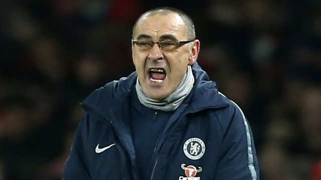 Sarri expels the coaches and closes the locker room for an hour-long investigation