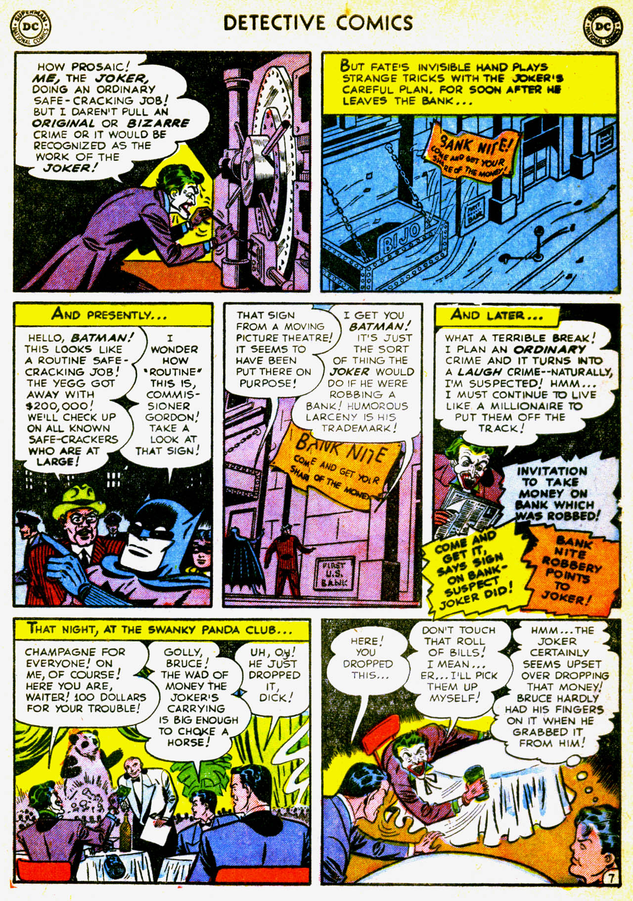 Detective Comics (1937) 180 Page 9
