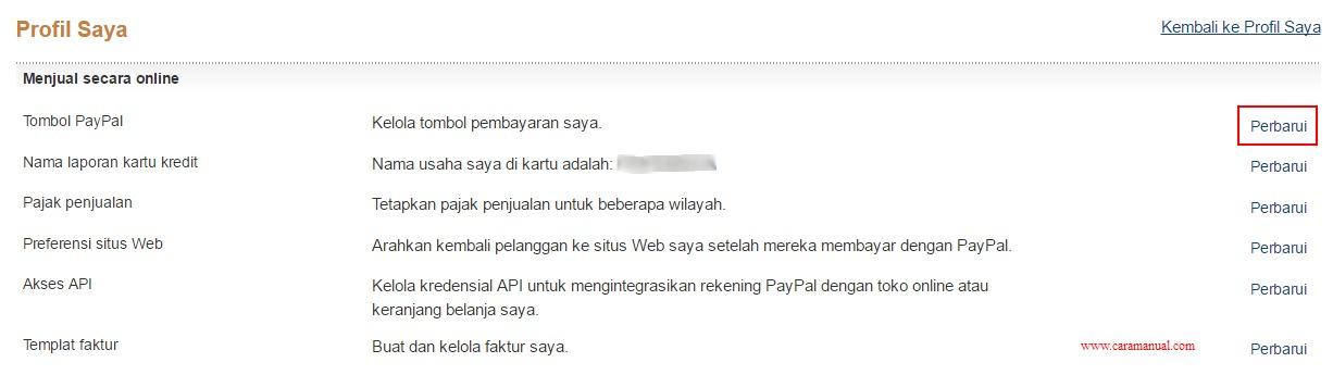 Cara Membuat Tombol Donasi Paypal di Blog 2