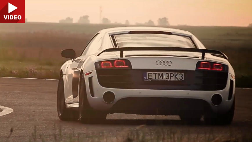 Audi R8 V10 GT With Sports Exhaust Might Be The Best Thing You'll Hear All Day