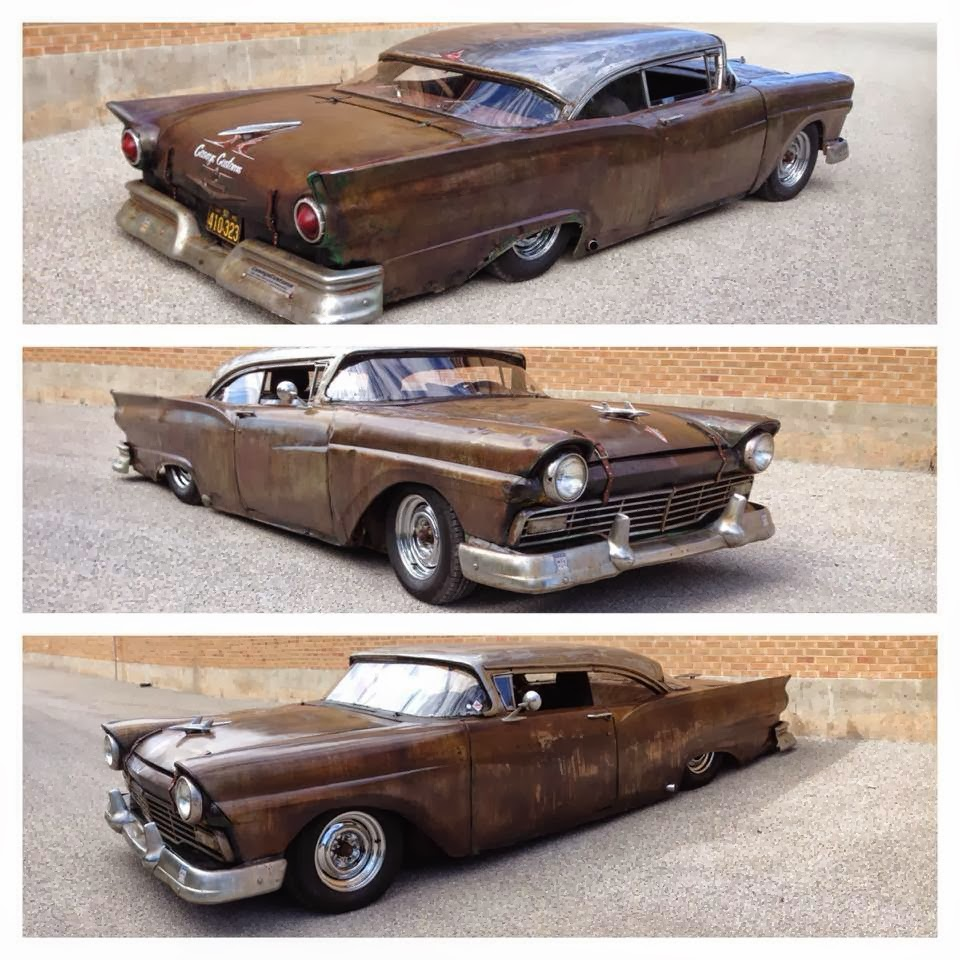 Daily Turismo: 10k: Capricorn Husker: 1957 Ford Fairlane Custom