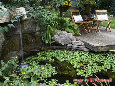 how to build a garden pond